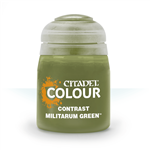 CONTRAST - MILITARUM GREEN - 18ml - Games Workshop