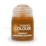 CONTRAST - SNAKEBITE LEATHER - 18ml - Games Workshop
