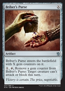 Briber's Purse - Khans of Tarkir - Uncommon