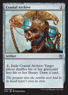 Cranial Archive - Khans of Tarkir - Uncommon