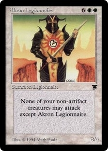 Akron Legionnaire - Legends - Rare