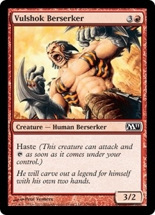Vulshok Berserker - Magic 2011 - Common