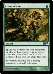 Autumn's Veil - Magic 2011 - Uncommon