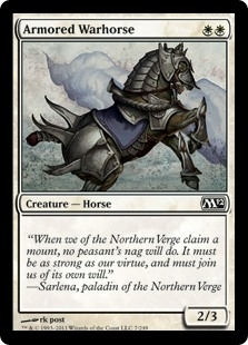 Armored Warhorse - Magic 2012 - Common