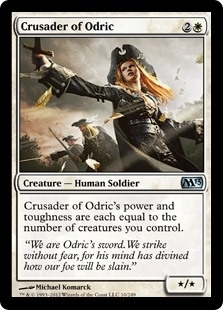 Crusader of Odric - Magic 2013 - Uncommon
