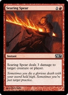 Searing Spear - Magic 2013 - Common