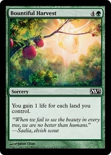 Bountiful Harvest - Magic 2013 - Common