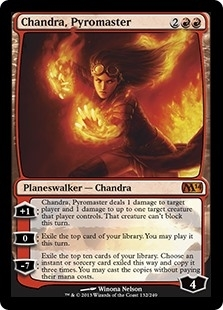 Chandra, Pyromaster - Magic 2014 Core Set - Mythic Rare