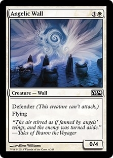 Angelic Wall - Magic 2014 Core Set - Common