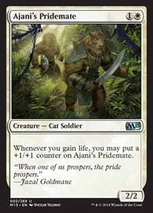 Ajani's Pridemate - Magic 2015 Core Set - Uncommon