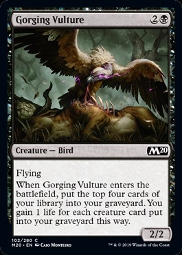 Gorging Vulture - Core Set 2020 - Common