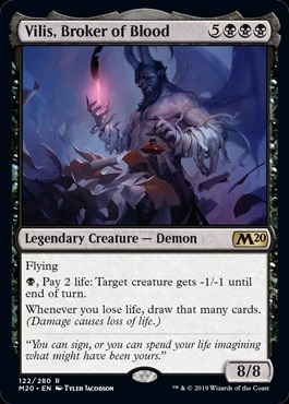 Vilis, Broker of Blood - Core Set 2020 - Rare