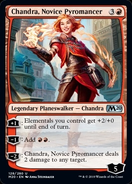 Chandra, Novice Pyromancer - Core Set 2020 - Uncommon