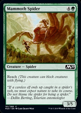 Mammoth Spider - Core Set 2020 - Common