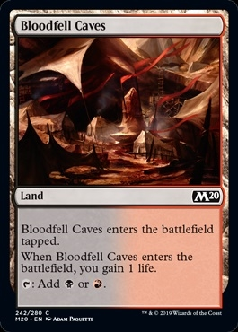 Bloodfell Caves - Core Set 2020 - Common