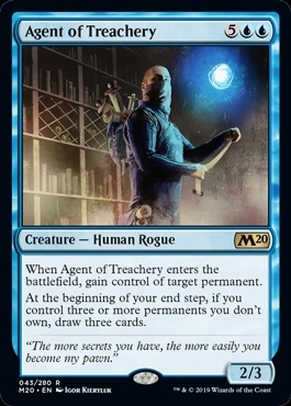 Agent of Treachery - Core Set 2020 - Rare