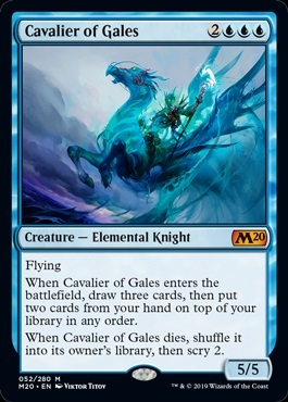 Cavalier of Gales - Core Set 2020 - Mythic Rare