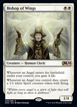 Bishop of Wings - Core Set 2020 - Rare