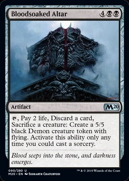 Bloodsoaked Altar - Core Set 2020 - Uncommon