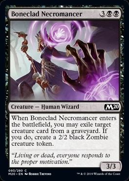 Boneclad Necromancer - Core Set 2020 - Common