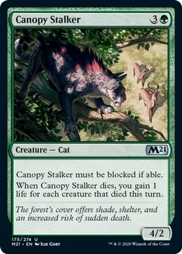 Canopy Stalker - Core Set 2021 - Uncommon