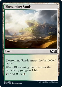 Blossoming Sands - Core Set 2021 - Common