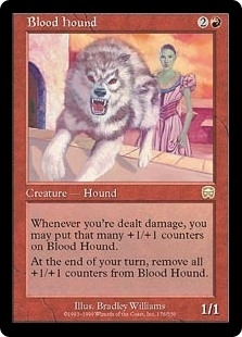 Blood Hound - Mercadian Masques - Rare