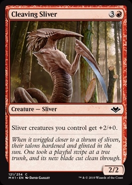 Cleaving Sliver - Modern Horizons - Common