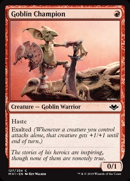 Goblin Champion - Modern Horizons - Common