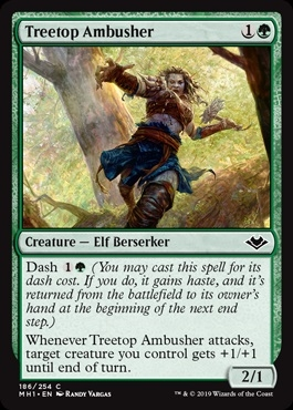 Treetop Ambusher - Modern Horizons - Common