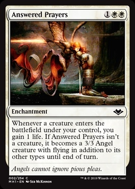 Answered Prayers - Modern Horizons - Common