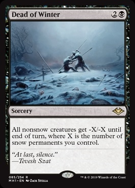 Dead of Winter - Modern Horizons - Rare