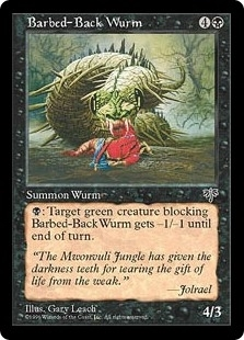 Barbed-Back Wurm - Mirage - Uncommon