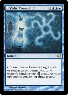 Cryptic Command - Modern Masters - Rare