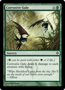Corrosive Gale - New Phyrexia - Uncommon