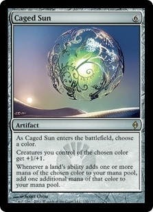 Caged Sun - New Phyrexia - Rare