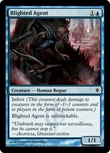 Blighted Agent - New Phyrexia - Common