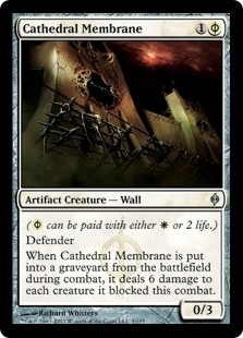 Cathedral Membrane - New Phyrexia - Uncommon
