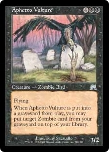 Aphetto Vulture - Onslaught - Uncommon