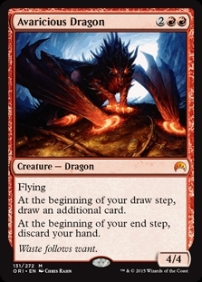 Avaricious Dragon - Magic Origins - Mythic Rare