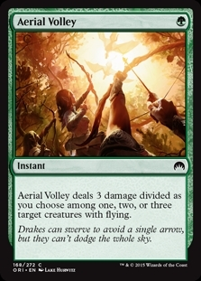 Aerial Volley - Magic Origins - Common