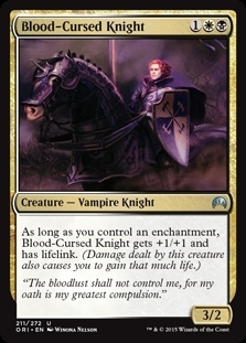 Blood-Cursed Knight - Magic Origins - Uncommon