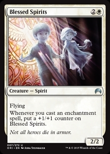Blessed Spirits - Magic Origins - Uncommon