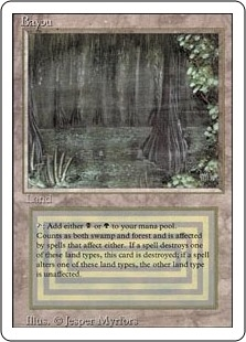 Bayou - Revised Edition - Rare