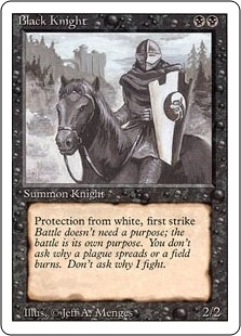Black Knight - Revised Edition - Uncommon