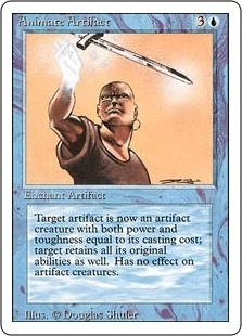 Animate Artifact - Revised Edition - Uncommon