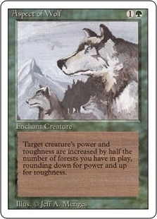 Aspect of Wolf - Revised Edition - Rare