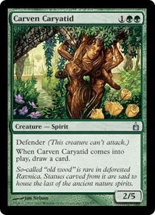 Carven Caryatid - Ravnica: City of Guilds - Uncommon