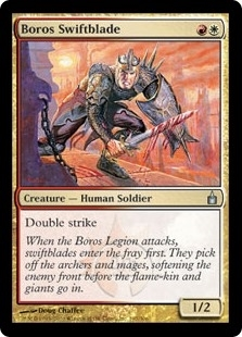 Boros Swiftblade - Ravnica: City of Guilds - Uncommon