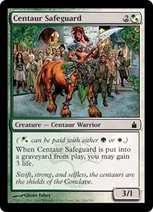 Centaur Safeguard - Ravnica: City of Guilds - Common